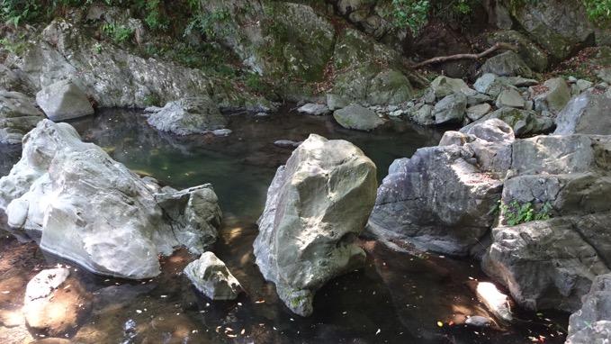 三波渓谷 バーベキュー