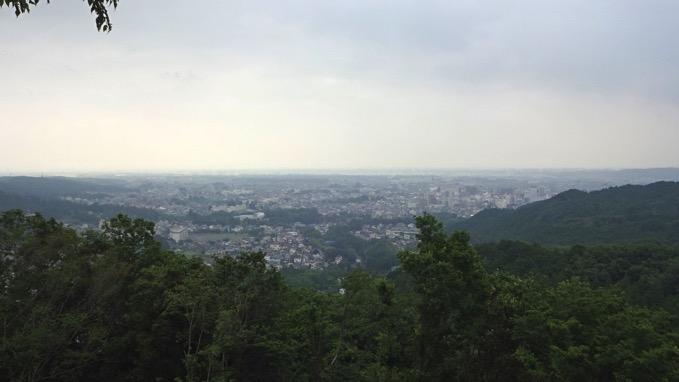 龍崖山 山頂 眺望