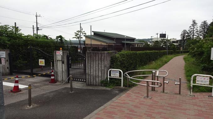 県立狭山自然公園 入口