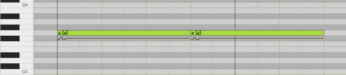 調声 母音分割