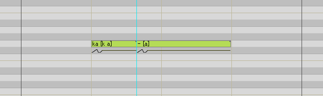 母音分割 VOCALOID