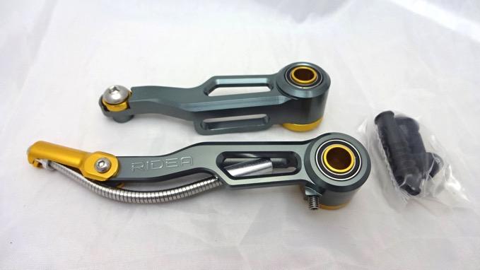 RIDEA(リデア) CSV V-Brake CNC ショートアームVブレーキ