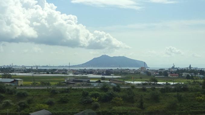 北海道新幹線 函館山