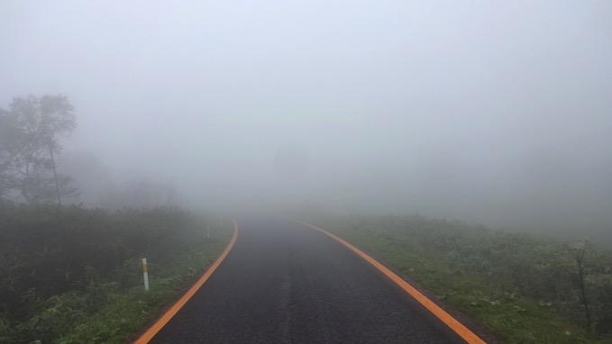 横津岳 自転車