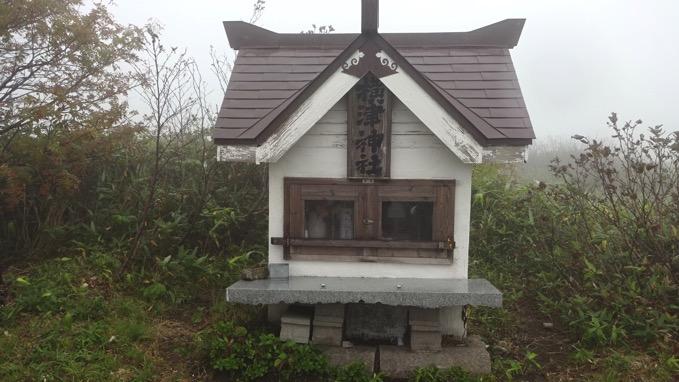 横津岳 自転車 横津神社