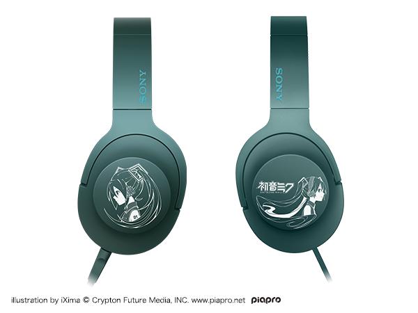 初音ミク モデル ヘッドホン SONY h.ear on MDR-100A