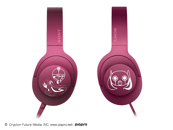 h.ear on MDR-100A 初音ミク ヘッドホン