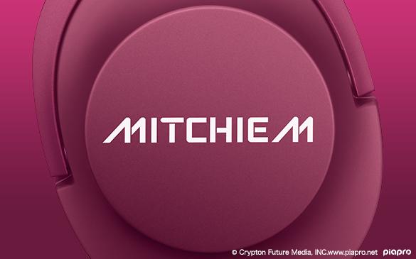 初音ミク ヘッドホン MDR-100A Mitchie M