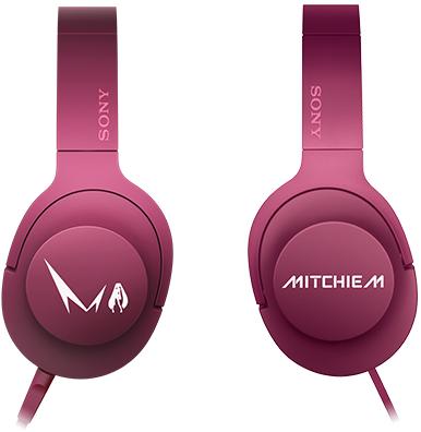 初音ミク モデル ヘッドホン h.ear on mdr-100a Mitchie M