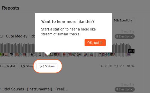 soundcloud station