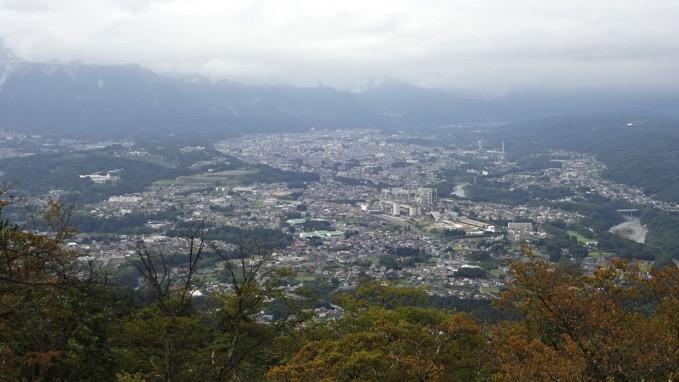 美の山 蓑山 山頂 展望