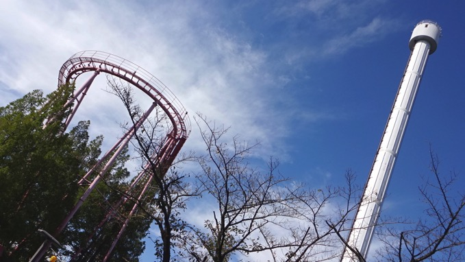 荒幡の富士 西武遊園地