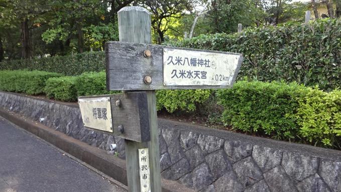 荒幡の富士 所沢