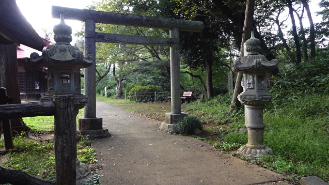 荒幡の富士 所沢 浅間神社