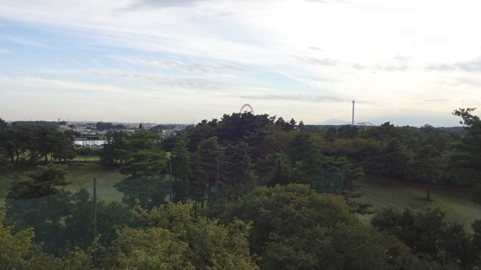 荒幡の富士 所沢 山頂 展望