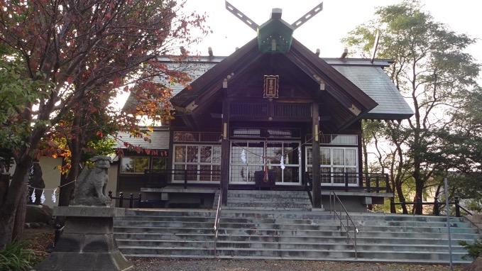 銭函天狗山 豊足神社