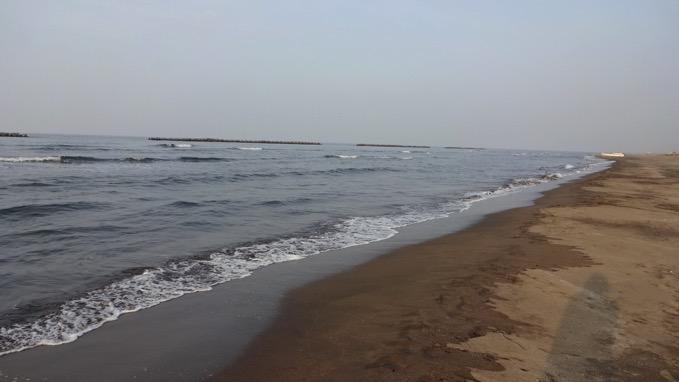 銭函 海水浴場