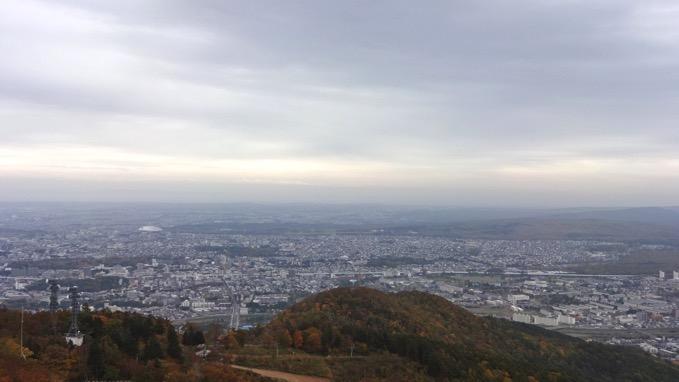 藻岩山 登山 山頂 展望 台