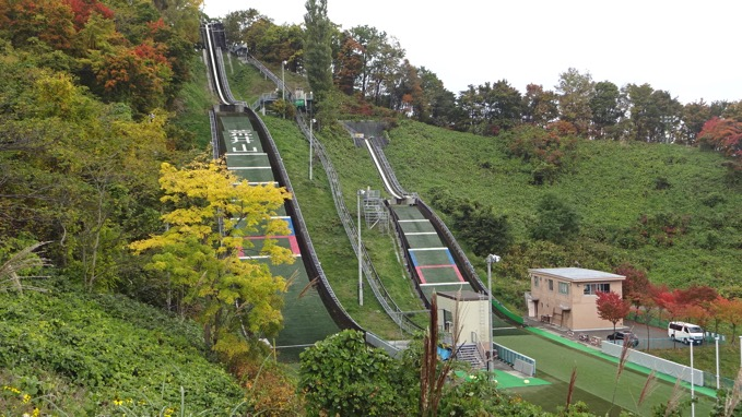 荒井山ジャンプ競技場