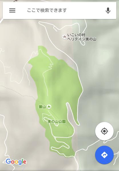 美の山 google maps