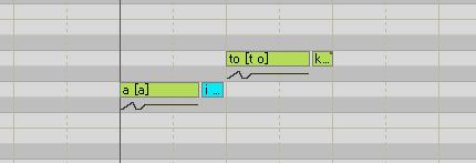 VOCALOID 母音