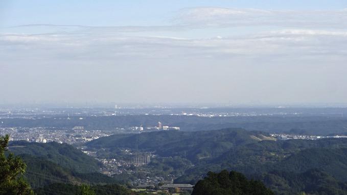 天覚山 山頂 展望 ルート