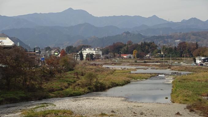 秋川丘陵ハイキング 秋留橋