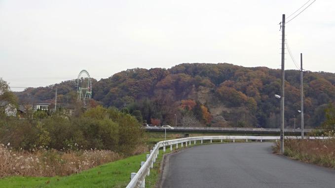 秋川丘陵ハイキング 六枚屏風岩