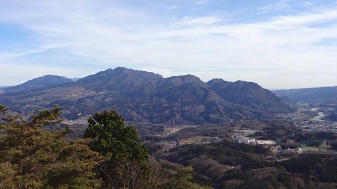 嵩山 たけやま 登山 不動岩 眺望
