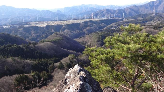 嵩山 たけやま 登山 五郎岩 眺望