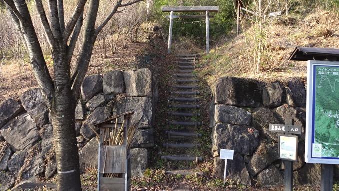 嵩山 たけやま 登山口 東登山道入口