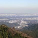 景信山に登山。富士山と関東平野の眺望が素晴らしい![東京都八王子市]