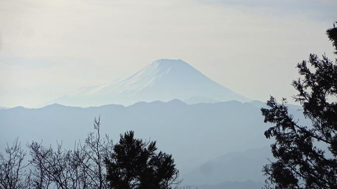景信山 登山 ハイキング 山頂 展望 富士山