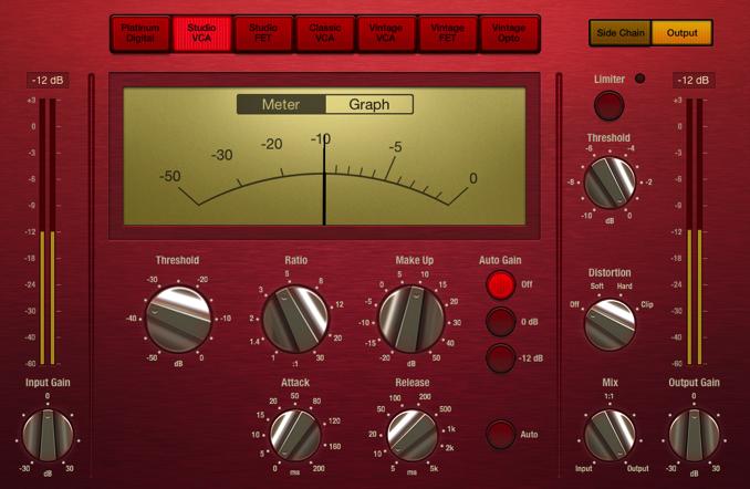 Studio VCA Logic Pro Compressor