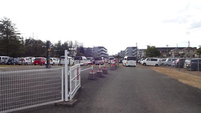 久伊豆神社 初詣 駐車場