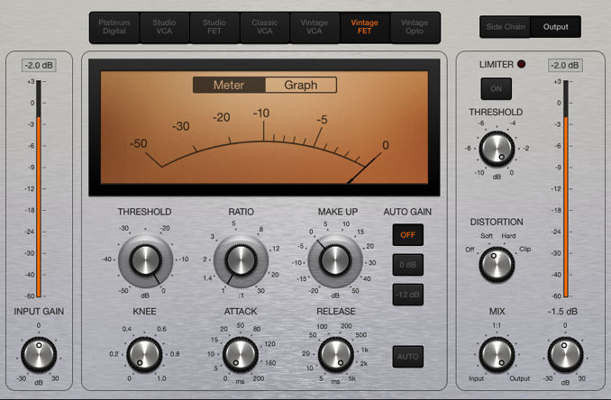 Logic Pro compressor distortion