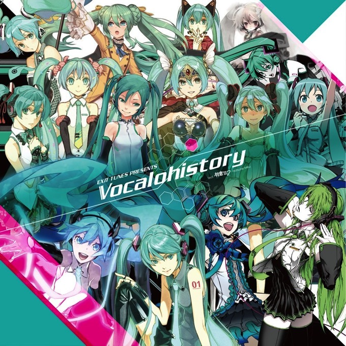 vocalohistory 初音ミク