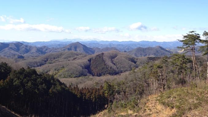 桜峠 展望