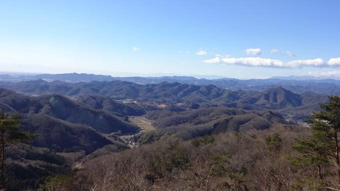 青入山 山頂 展望