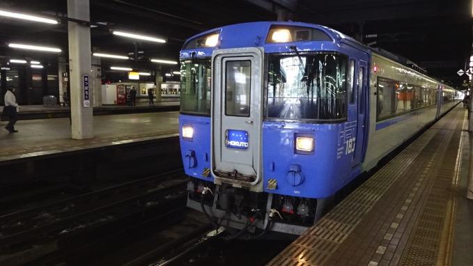 札幌駅 特急北斗