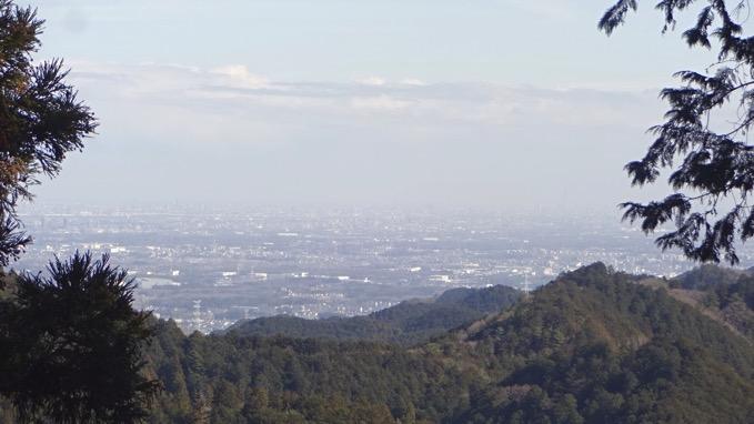 越上山 登山道 展望