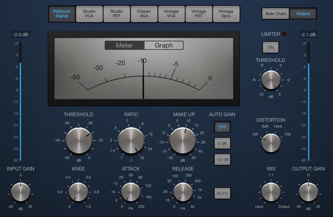 Logic Pro コンプ platinum digital