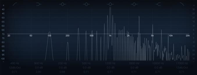 Logic Pro コンプ compressor 倍音