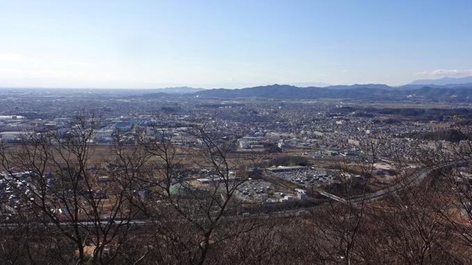 三毳山 青竜ケ岳 山頂 展望