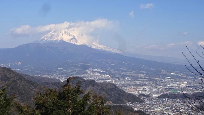 大平山 富士山