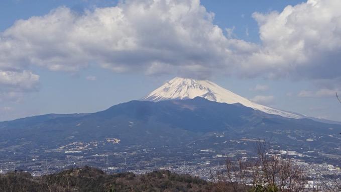 徳倉山山頂 富士山