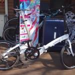 世界最小20インチ折りたたみ自転車「CARACLE-S」が我が家にやってきた!