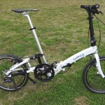 「CARACLE-S」世界最小20インチ折りたたみ自転車のスペックをレビュー
