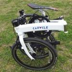 スーツケースに入るコンパクトな自転車「CARACLE-S」の折りたたみ方法