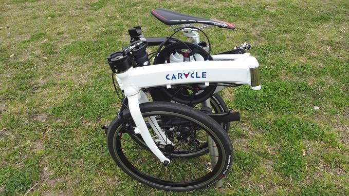 CARACLE-S おりたたみ自転車